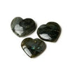 Labradorite Mini Hearts Specimen Set of three