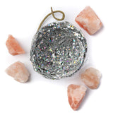 Silver Glitter Purifier Nest Ornament