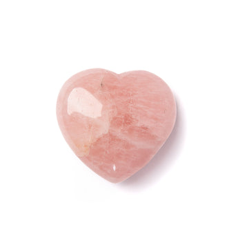 Rose Quartz Hearts 2""