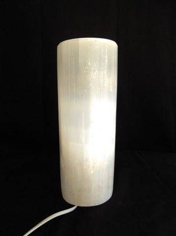 Selenite Lamp Full Polish