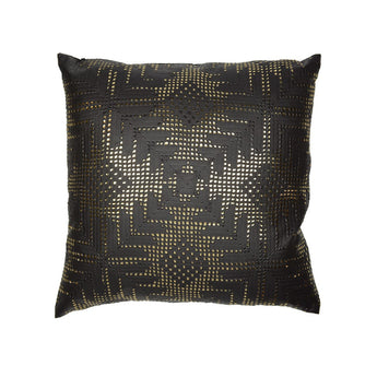 Gold Aztec Lace on Black