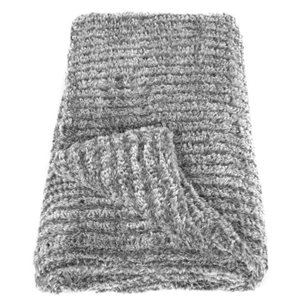 Cocoon Throw in Pewter