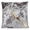 Crushed Velvet in Cobble with Gold Constellation