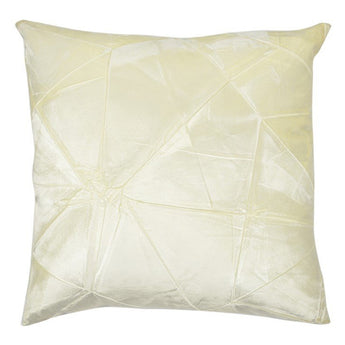 Facet Pillow in Ivoire