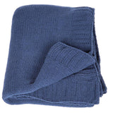 Navy Cloud Throw