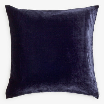 Solid Silk Velvet in Indigo