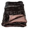 Chocolate Mink Throw