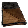 Sparkle Fur Mink Throw