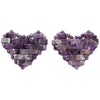 Eye Heart You Amethyst Crystal Eye Pads