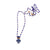 Lapis Lazuli Essential Oil Bottle Necklace (small)