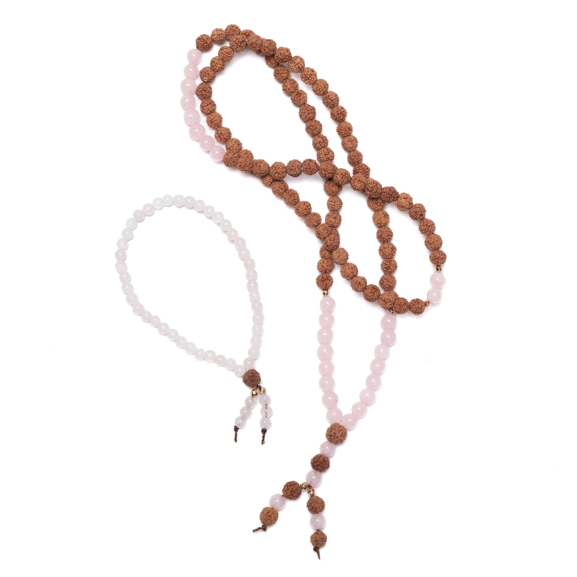 Super Power Pack: Mala Necklace and Bracelet Set of 7