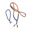 Mala Necklace in Lapis with matching Bracelet
