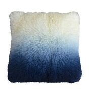 Mongolian Fur in Ombre Navy 12x20