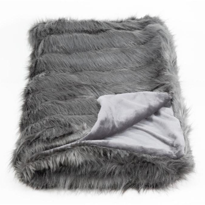 Smokey Pearl Throw