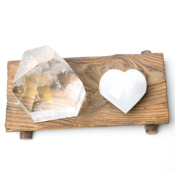 Mini Selenite Heart