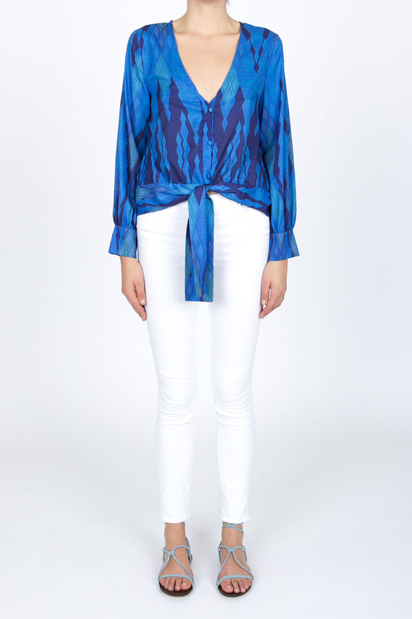Cerulean Sea Blouse