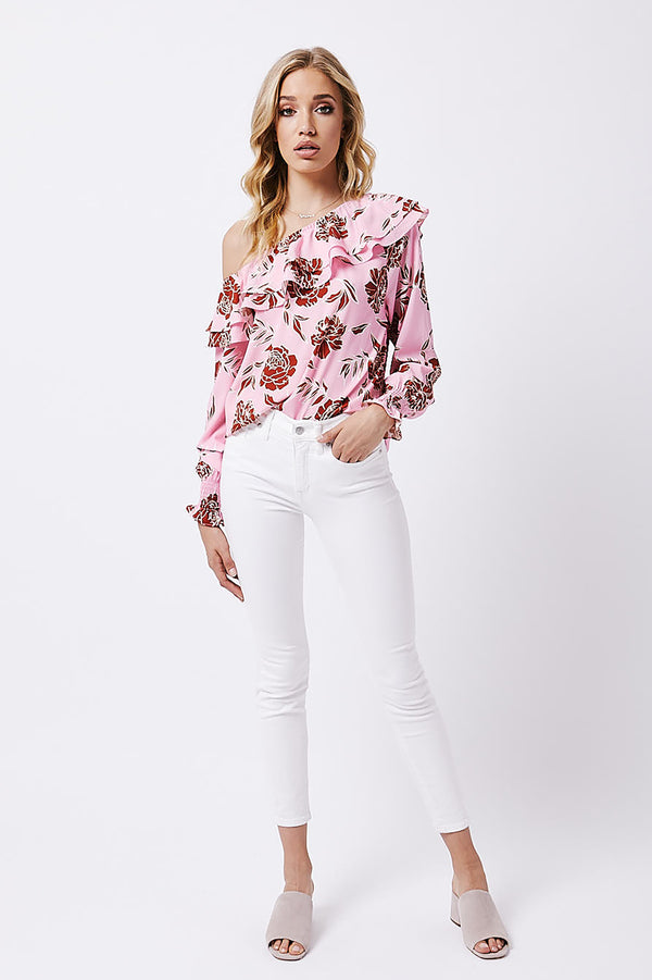Marguerite One Shoulder Blouse