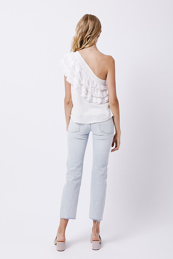 Bungalow One Shoulder Top