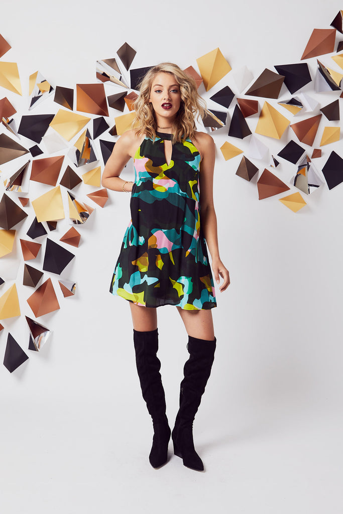 Picasso Swing Dress