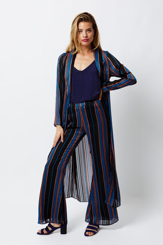 River Run Bed Coat - River Run Stripe