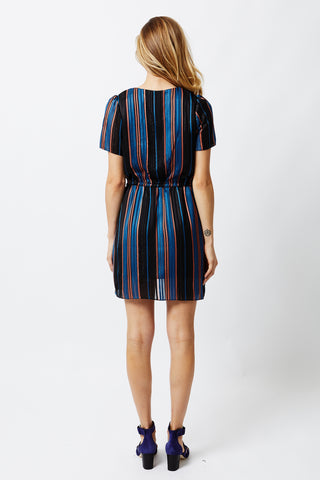 River Run Dress - River Run Stripe