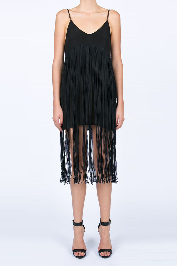 Long Fringe Don'T Care Dress