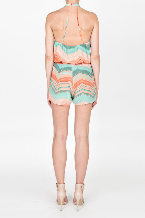Vacation Emily Romper - Paradise