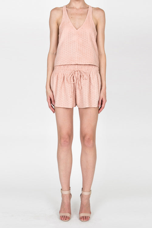 Pretty In Pink Short - Nude