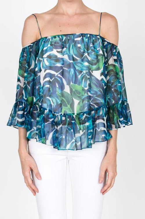 The Tropical Escape Blouse FINAL SALE