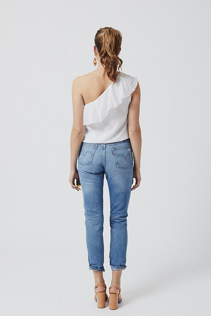 Janie One-Shoulder Top