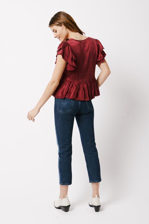 Vienna Short Sleeve Blouse