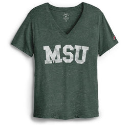 League Intramural  V-Neck - Forest