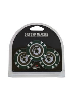 MSU 3-Pack Golf Chip Ball Markers