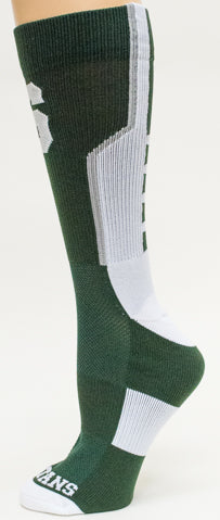 MSU Performance Sock - Forest