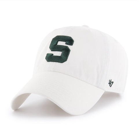 '47 Brand Clean Up Hat - White Block S