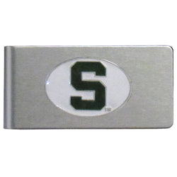 MSU Brushed Money Clip