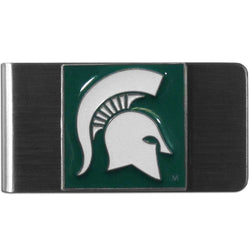 MSU Steel Money Clip