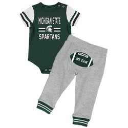 Infant Boys Long Run Football Onesie & Pant