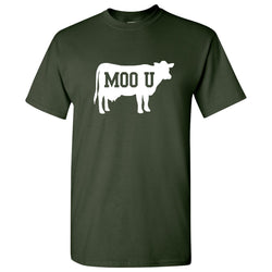 Moo U T-Shirt - Forest
