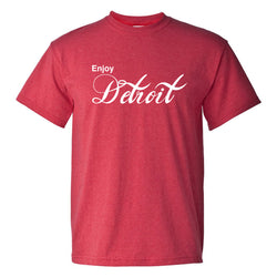 Enjoy Detroit T-Shirt - Heather Red
