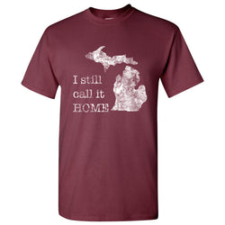 Still Home T-Shirt - Maroon