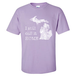 Still Home T-Shirt - Orchid