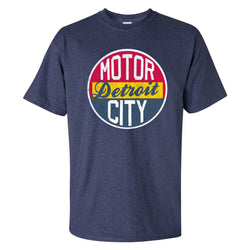 Motor City T-Shirt - Heather Navy