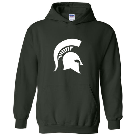 Sparty Logo Hooded Sweatshirt - Forest