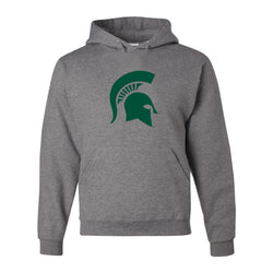Sparty Logo Hooded Sweatshirt - Oxford