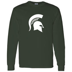 Sparty Logo Long Sleeve T-Shirt - Forest