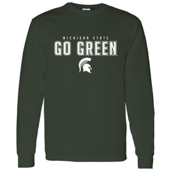 Go Green Long Sleeve T-Shirt - Forest