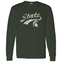 State Slide Long Sleeve T-Shirt - Forest