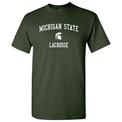 Michigan State Lacrosse T-Shirt - Forest