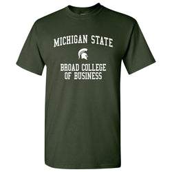 Michigan State Broad College of Business T-Shirt - Forest